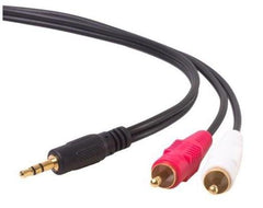 2M ALOGIC 3.5MM STEREO AUDIO TO 2* RCA STEREO M- 2M