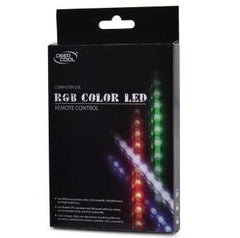 DEEPCOOL 300MM RGB COLOR LED STRIP WITH REMOTE 18 LEDS