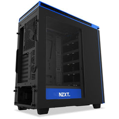 NZXT H440(2015) MATTE BLK/BLUE MID TOWER