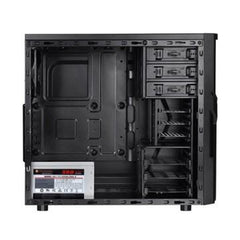 Thermaltake Versa H21 Mid Tower Chassis with 500W Power Supply Included