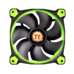 140MM TT GREEN LED RAD FAN