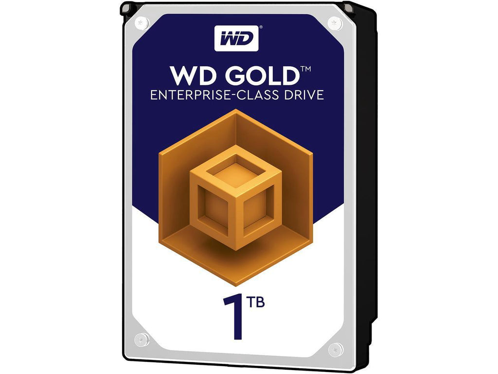 "1TB WD GOLD ENTERPRISE 3.5"" INTERNAL HDD 6GB/S 7200RPM"