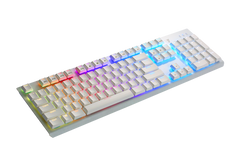 Tesoro G11SFL GRAM Spectrum Mechanical Red switch  RGB backlight Gaming Keyboard - White