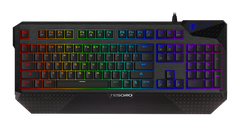 Tesoro G1SFL Durandal Spectrum Cherry MX RGB Mechnical Keyboard with USB ports and audio in out