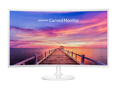 "31.5"" SAMSUNG F391 CURVED (16:9) VA LED 1920*1080, WHITE 1800 RADIUS 4MS VGA/HDMI VESA 3YRS"