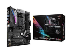ASUS ROG-STRIX-X370-F-GAMING AM4 MOTHERBOARD SYNC RGB LED