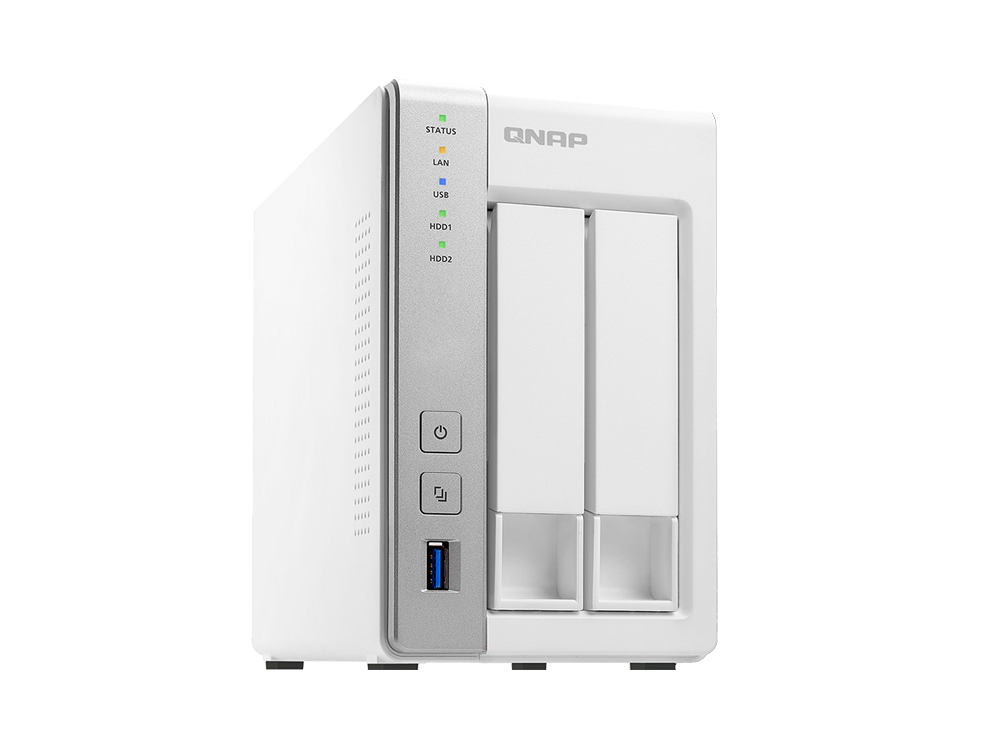 QNAP 2 Bay TS-231P NAS 2 Year Warranty