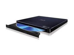 LG BP50NB40 USB2.0 BLU-RAY BURNER SLIM EXTERNAL OPTICAL DRIVE - RETAIL