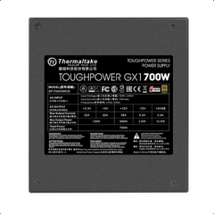 Thermaltake Toughpower GX1 Series 700W 80+ Gold Certified APFC Power Supply