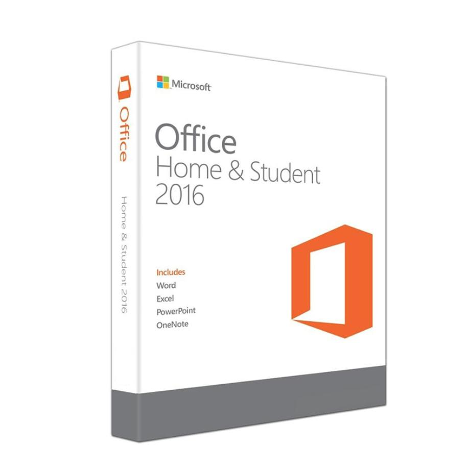 Microsoft Office Home and Student 2016 - 1 Licence - Physical Disc