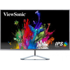 ViewSonic VX3276 32'' Ultra Slim IPS 1080P Monitor HDMI DISPLAY VGA Speaker 3Yrs Warranty