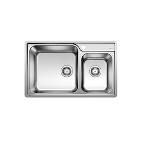 Chậu Blanco inox Lemis XL 8-IF