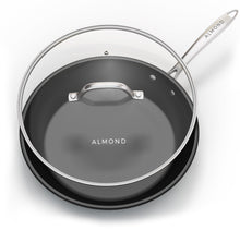 Load image into Gallery viewer, 12 Inch Nonstick Frying Pan with Glass Lid