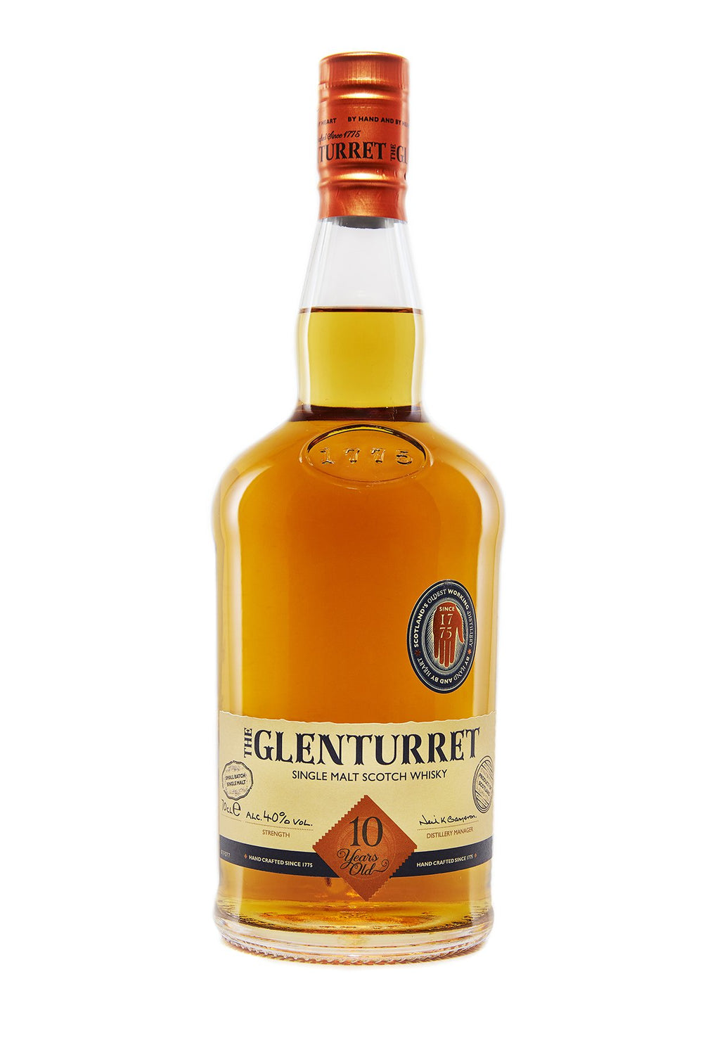 The Glenturret 10 Years Old
