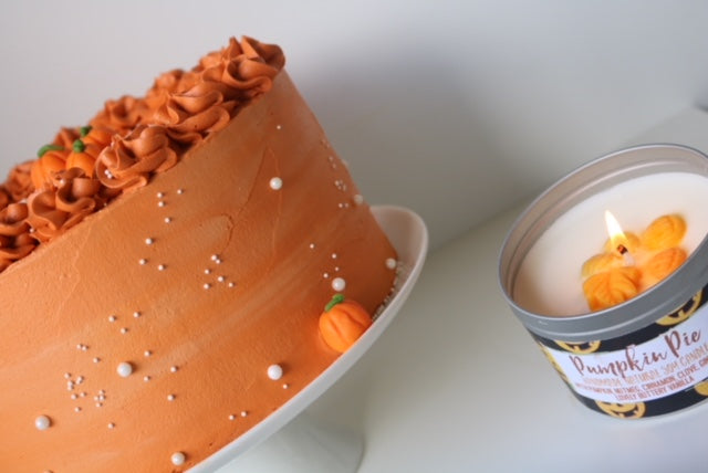 Pumpkin Spice Candles - and CAKE!