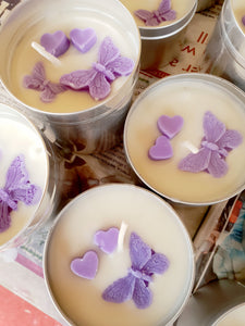 Lavender Natural Soy Wax Candle - Standard Size (8oz)