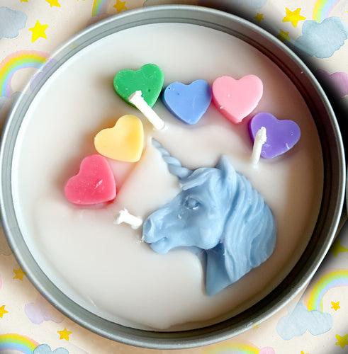 Unicorn Farts - Large Three Wick Candle (14oz)