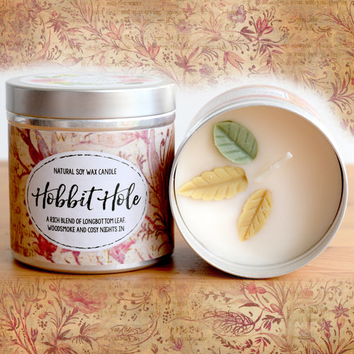 Hobbit Hole Natural Soy Wax Candle - Large Size (12oz)