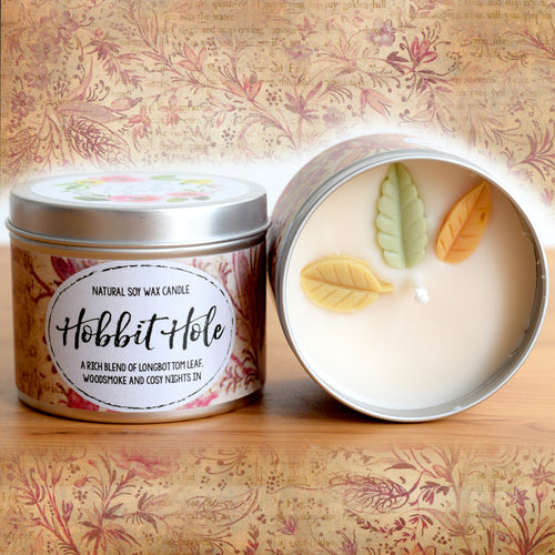Hobbit Hole Natural Soy Wax Candle - Standard Size (8oz)