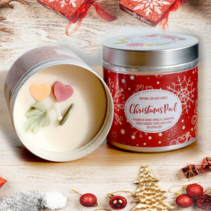 Christmas Pud Natural Soy Wax Candle - Large Size (12oz)