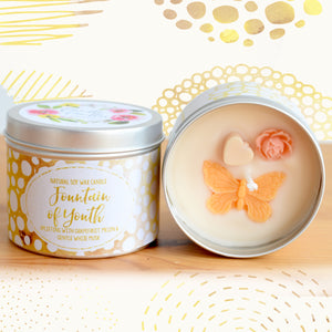 Fountain of Youth Natural Soy Wax Candle