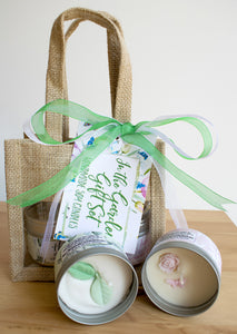 In The Garden Gift Set - Large Size (2 x 12oz)