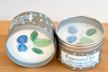 Peppermint Tea Natural Soy Wax Candle