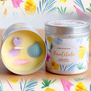 Pina Colada Natural Soy Wax Candle