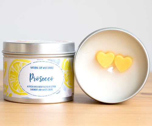 Prosecco Natural Soy Candle