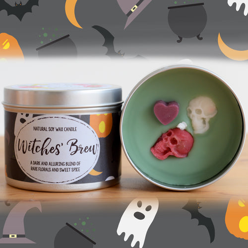 Witches Brew Natural Soy Wax Candle - Standard Size (8oz)