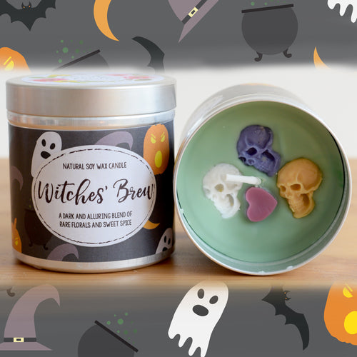 Witches Brew Natural Soy Wax Candle - Large 12oz Size