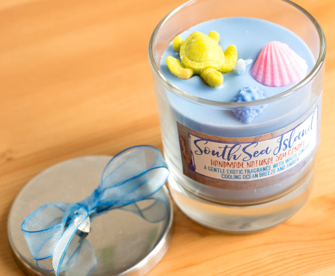 South Sea Island - Luxury Glass Jar Candle