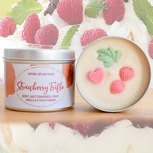 Strawberry Trifle Natural Soy Wax Candle