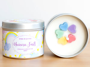 Unicorn Farts Natural Soy Wax Candle - Standard Size (8oz)