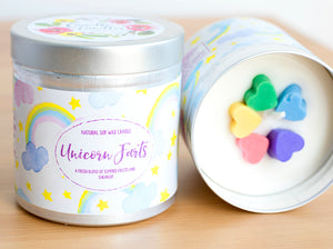 Unicorn Farts Natural Soy Wax Candle