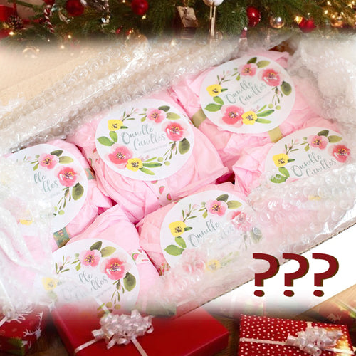 Christmas Mystery Box - 4 x 12oz Candles