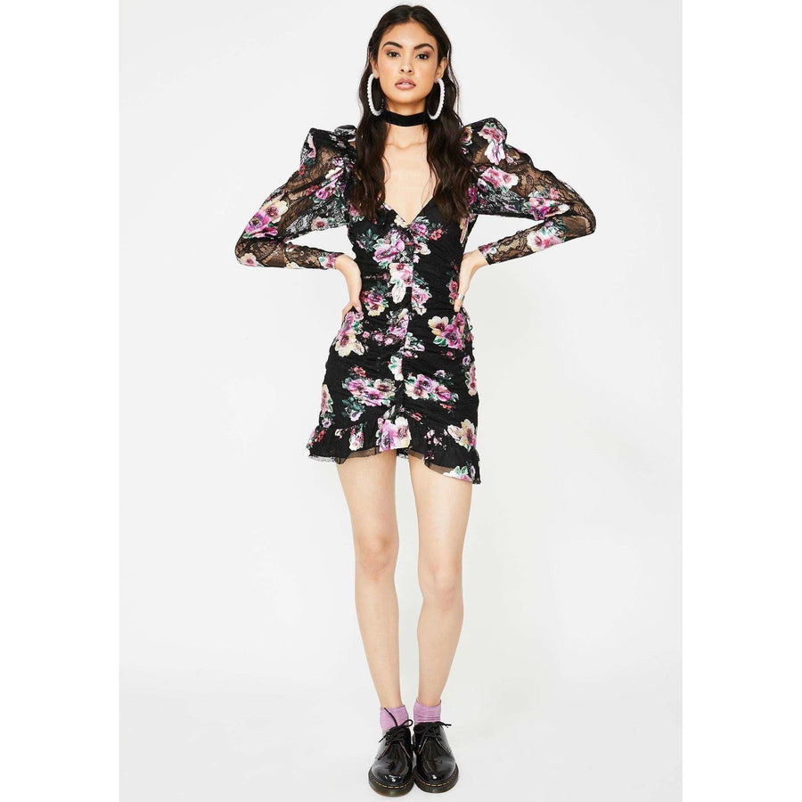 Benatar Ruffle Mini Dress