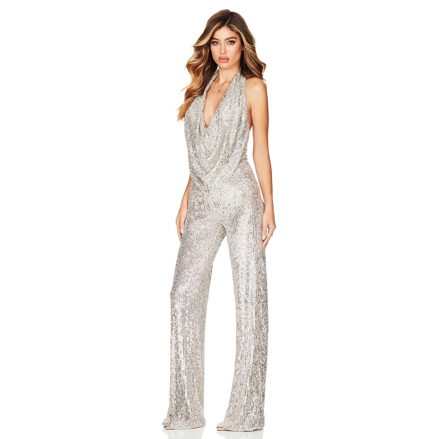 Fantasy Jumpsuit Silver