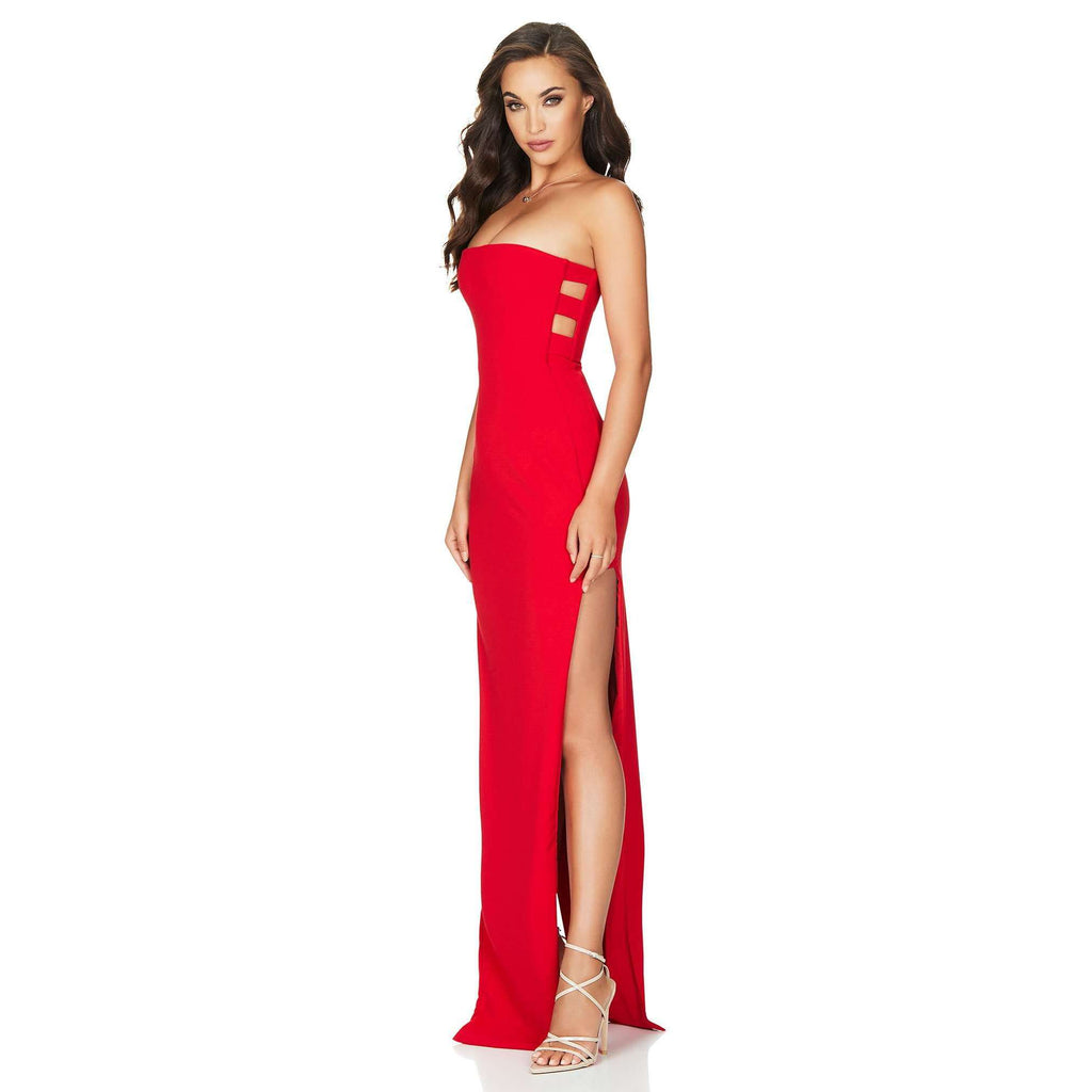 Flaunt Gown Red