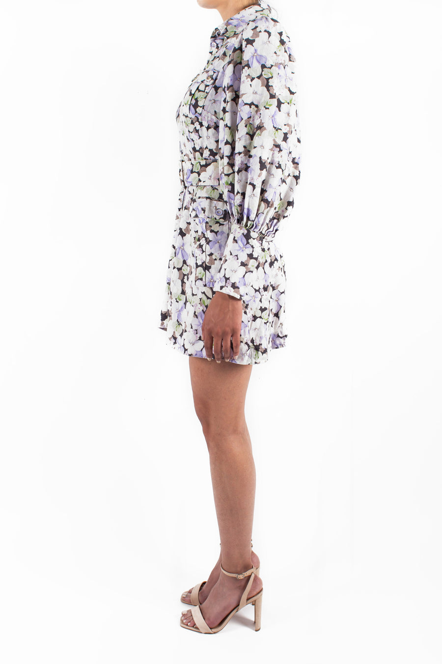 Ninety-Six Shirt Short Dress Front