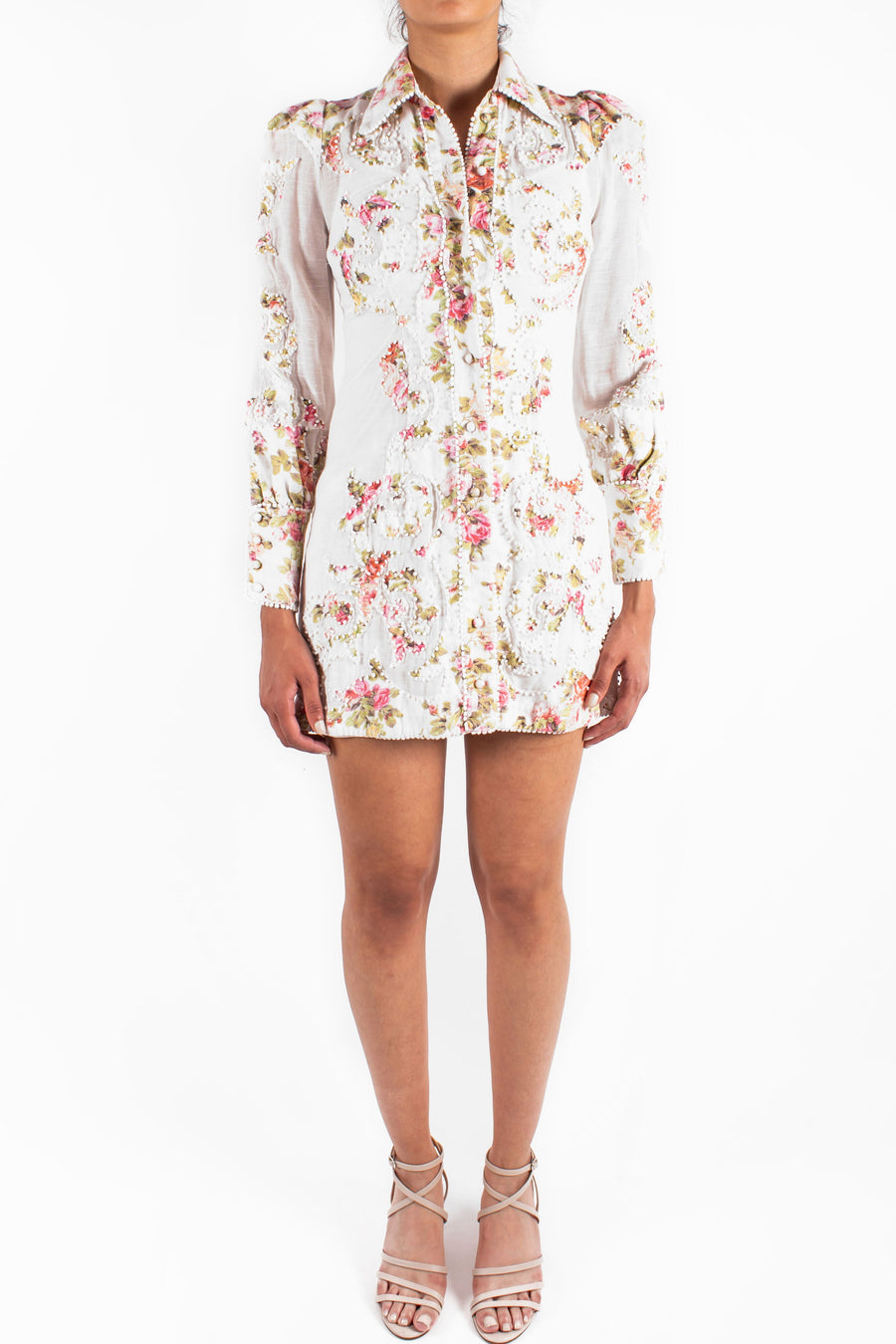 Radiate Applique Shirt Dress
