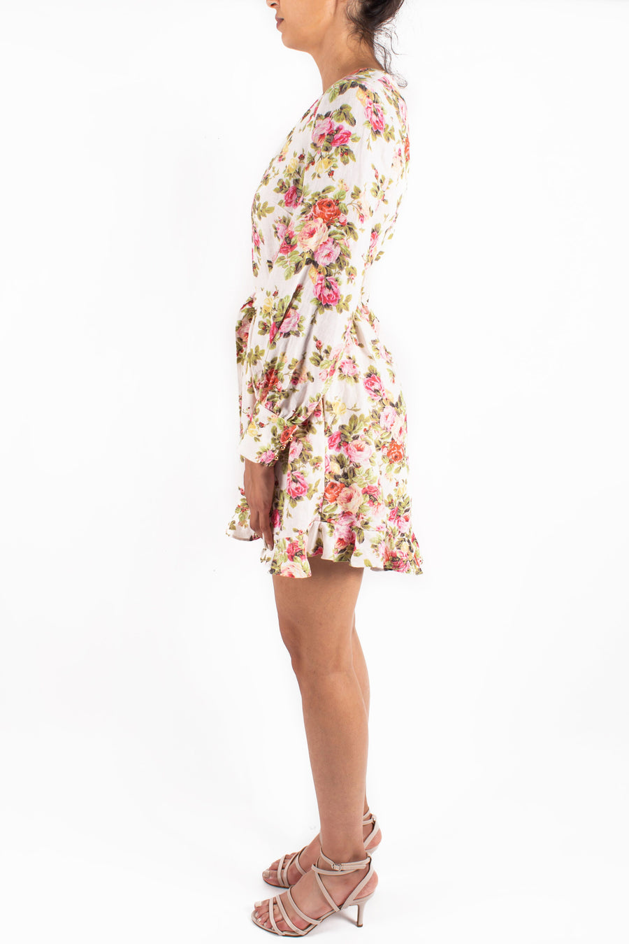 Radiate Flounce Flip Dress Front