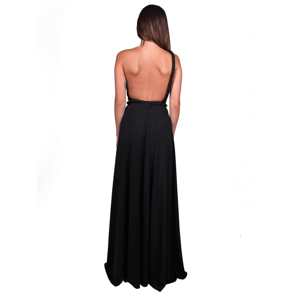 Vamp Gown Black