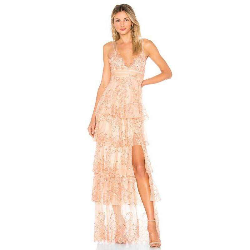 Love Is Love Gown Nude Scarlet