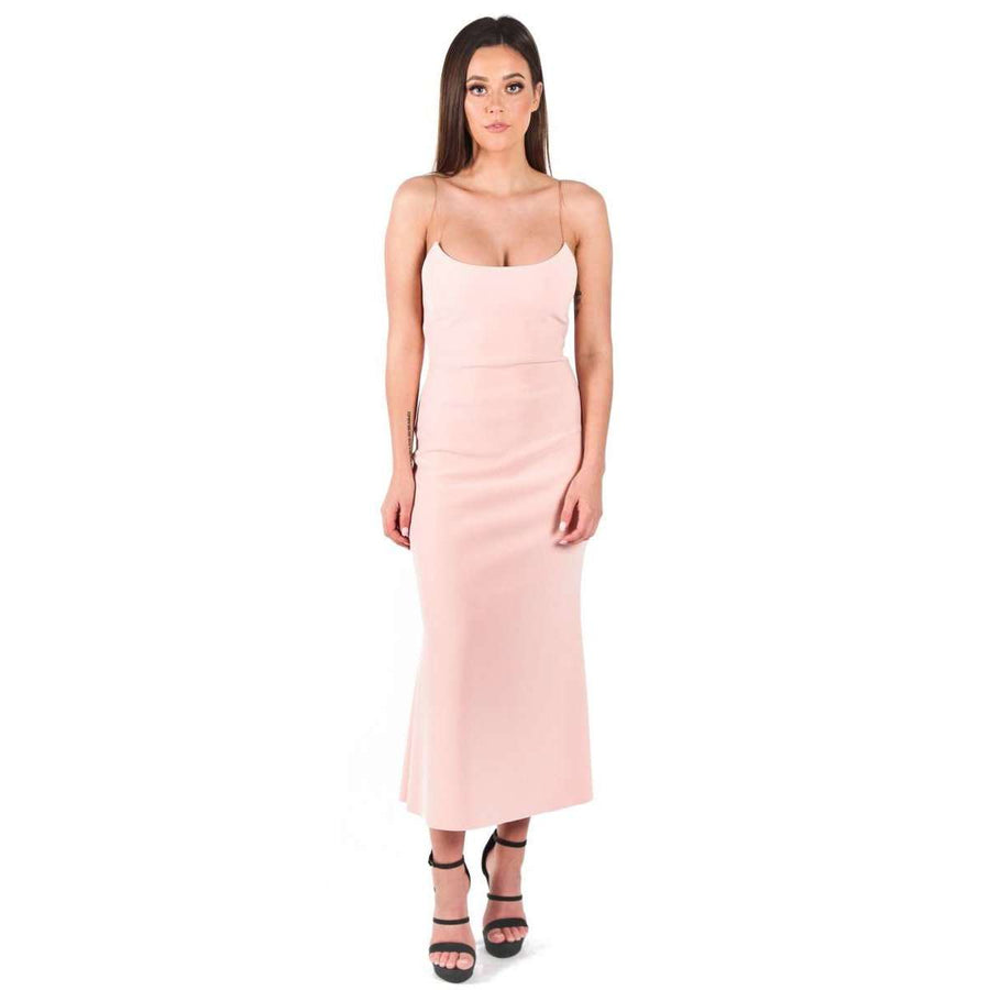 Te Amo Scoop Midi Dress Cosmetic