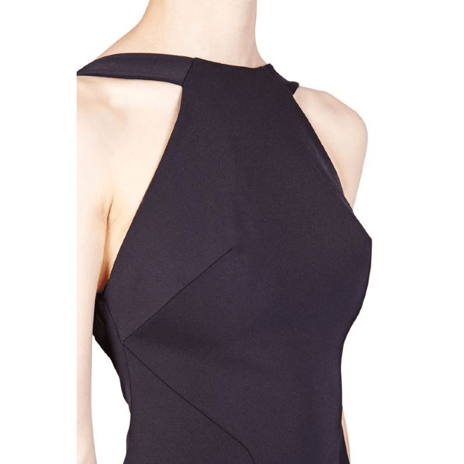 Bi Stretch Backless Mini Dress