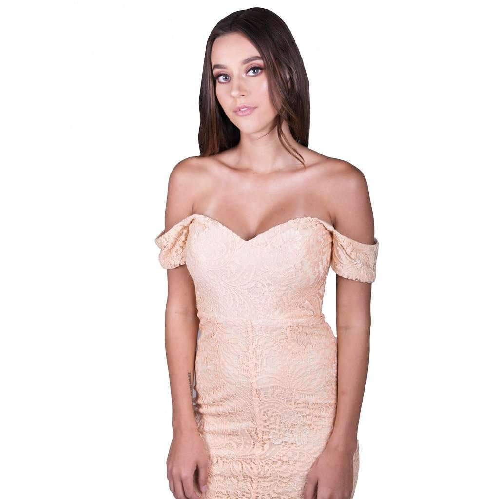Jennifer Apricot Dress