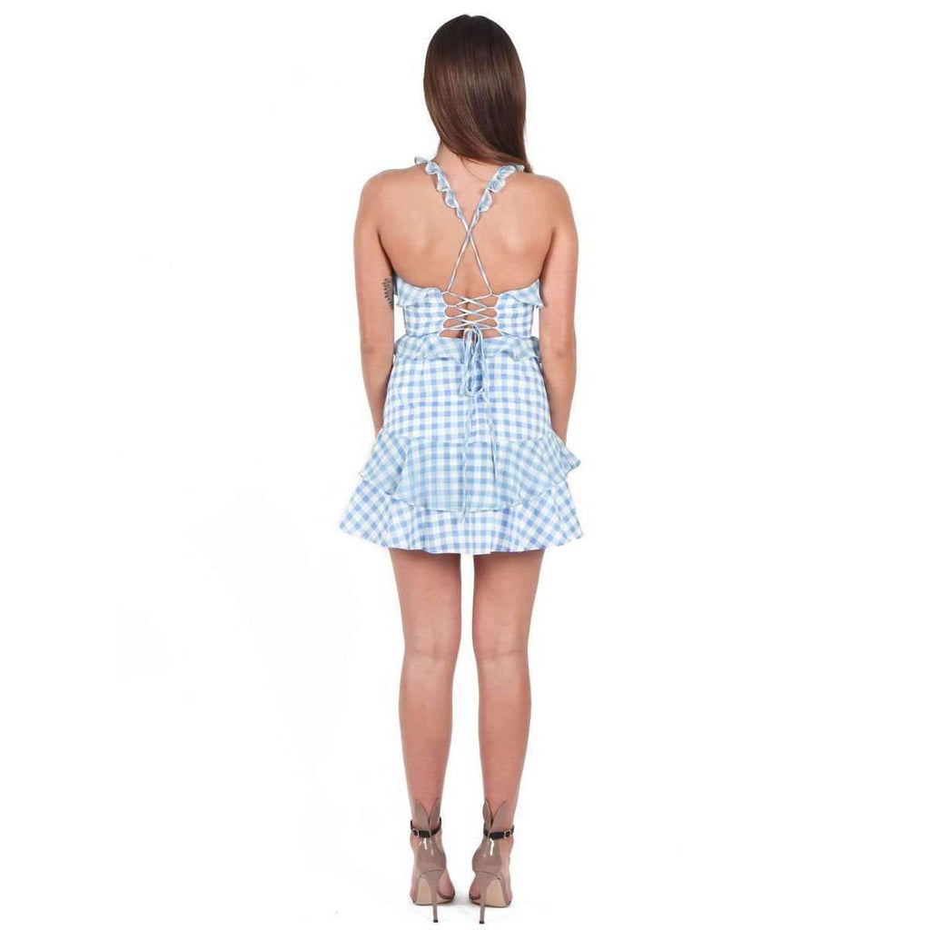 Dixie Ruffled Mini Dress