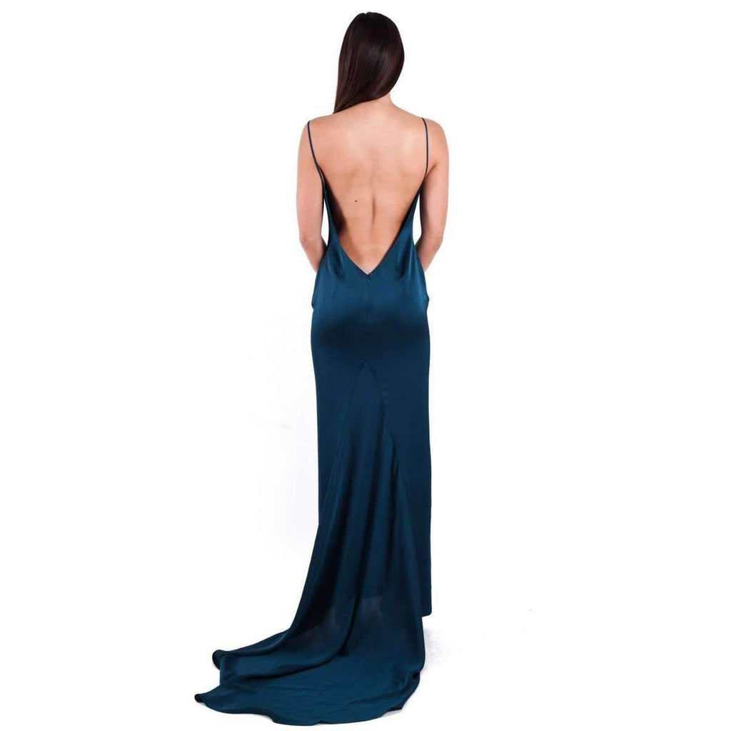 Aquarian Dress Cerulean Blue