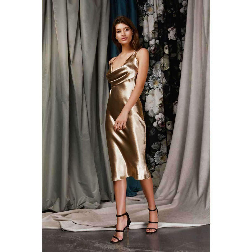 Rio Dress Gold
